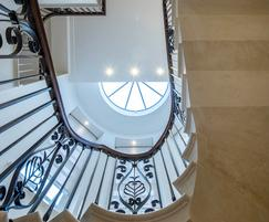 Classically designed balustrade