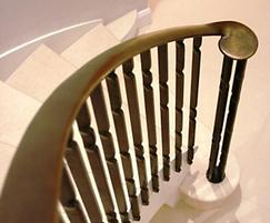 Contemporary steel balustrades
