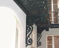 Cast iron balustrades and metalwork, New York