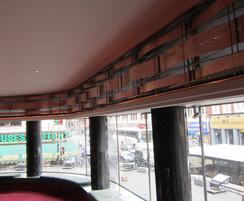 Bespoke copper panels installed in Queens Theatre