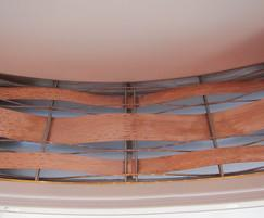 Decorative copper panels