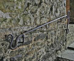 Bespoke steel handrails