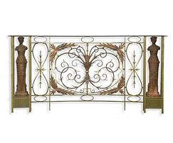 Brass balustrades