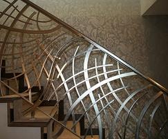 Chris Topp Ltd Contemporary stainless steel balustrades