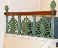 Chris Topp Ltd Contemporary steel railings