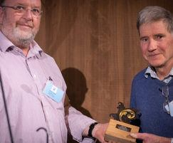 Chris Topp receives lifetime achievement award
