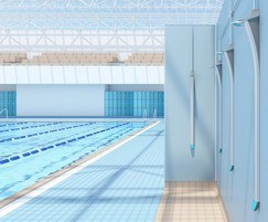 Duso showers are suitable for use beside swimming pools