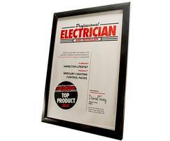 Hamilton Litestat: Mercury Lighting Control Packs named Top Product 2014