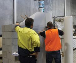 Waterproofing membrane design demonstration CPD