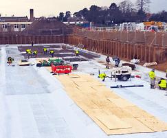 Newton 403 waterproofing for housing development