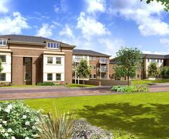 Waterproofing housing development