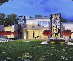 Luxury new-build home, North London