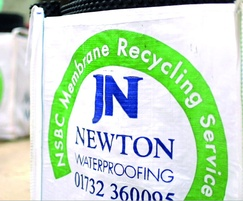 Newton Waterproofing: Newton recycling saves 5 tonnes of plastic from landfill