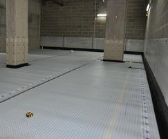 Waterproofing of mixed-use development, London