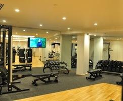 Private gym, Lillie Square, London