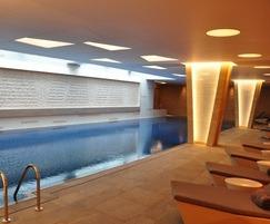 Pool area, Lillie Square, London