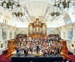 One of the magnificent concert halls