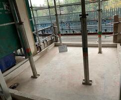 Balcony water & fireproofing