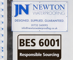 Newton Waterproofing: Newton Achieves BES 6001 Certification