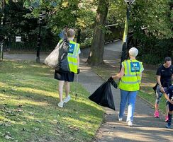 Newton Waterproofing: Litter Picking for World Cleanup Day