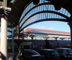 Traditional patent glazing, York railway station