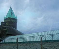 Traditional patent glazing, Abergavenny Market Hall