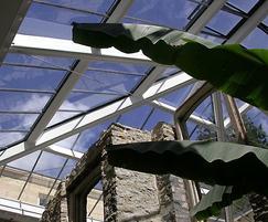 Heritage patent glazing system, Aberglasney House