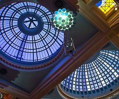 Heritage patent glazing, Royal Exchange Theatre