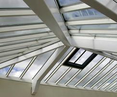 Skyline Box patent glazing installed at HMP Durham