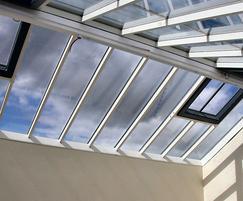 Skyline Box patent glazing - HMP Durham