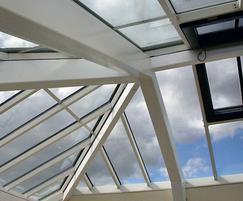Skyline Box patent glazing, Durham Prison