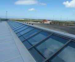 Patent glazing for RAF base in Wales
