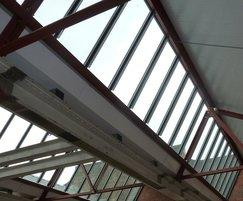 Patent glazing used in refurbishment