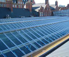 Traditional patent glazing, Marleybone railway station