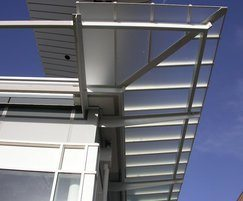 Traditional patent glazing system - retail appication
