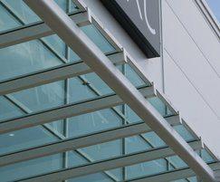 Skyline Box glazing bars and laminated glass