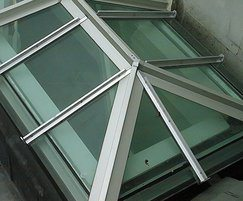 Traditional patent glazing