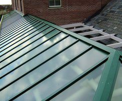 Heritage patent glazing used for train station canopy