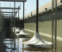 HyperClassic® mixer, large WWTP, Berlin, Germany