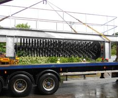 Delivery of a Rotex brush aerator
