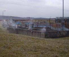 Odour suppression - wastewater treatment plant