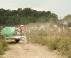 Odour suppression - industrial wastewater lagoon