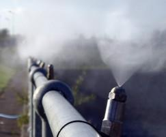 Odour from large wastewater tanks can be neutralised