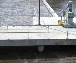 Platform mounted for ease of maintenance access