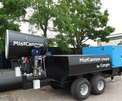 MistCannon Integral with integrated water tank