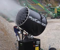 MistCannon's unique nozzle layout