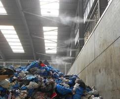 Odour suppression - waste transfer station