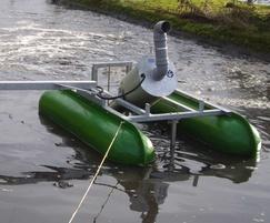 Spiral Aerators for Scottish Water sewage works