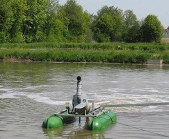 Spiral aerator for lagoon treatment