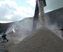 MistCannons are used at aggregate handling sites